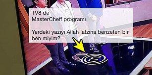 Beyin Yakan Benzetme: MasterChef Programının Logosunu Arapça Allah Yazısına Benzeten İnsanlar ve Gelen Tepkiler