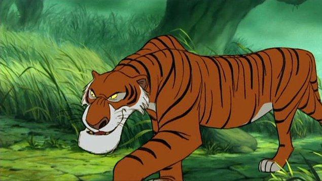 12. Scar karakteri, başta ''The Jungle Book''taki Shere Kahn karakterine çok benziyormuş.