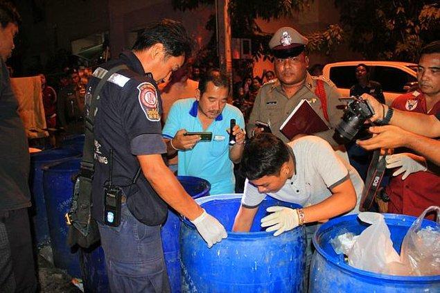 Polis, kanaması devam eden kadını hastaneye götürdü.