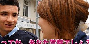 İngilizce Konuşmaya Çalışan Polisin Japon Turist ile İmtihanı