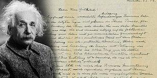 Ünlü Fizikçinin İnançlara Bakışını En Net Yansıtan Belge: Einstein'in 'Tanrı Mektubu', 2,9 Milyon Dolara Satıldı