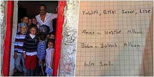 iPhone X İsteyen, Tablet İsteyen... Geldiği Yeri Unutmayan Nusret, Köyündeki Çocuklara Yılbaşı Dileklerini Yazdırdı!