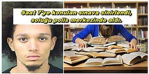 Saat 7'ye Sınav Koyan Öğretmenine Sinirlendi, Soluğu Polis Merkezinde Aldı!