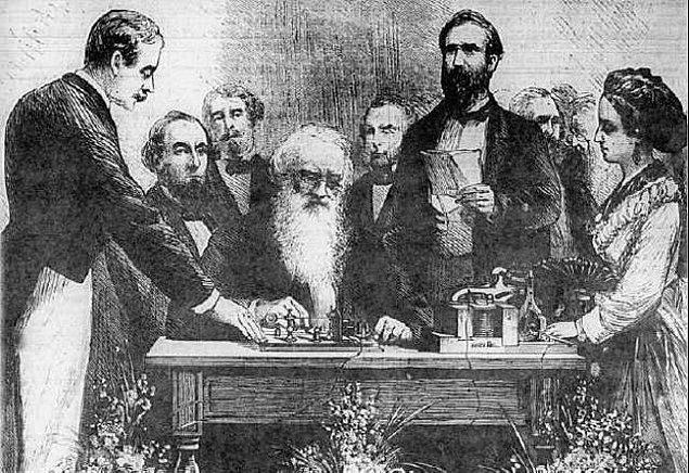Aradan dört yıl daha geçmiş ama Morse amacından vazgeçmemişti. Bu kez kongre binasındaki odalar arasında bir sistem kurarak nasıl iletişim kurulacağını üyelere gösterdi.