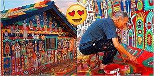 Köyünün Yıkılacağını Öğrenince Duvarlara Resim Yapmaya Başlayan ve 10 Yıldır Hiç Durmayan Bir Adam: Huang Yung-fu