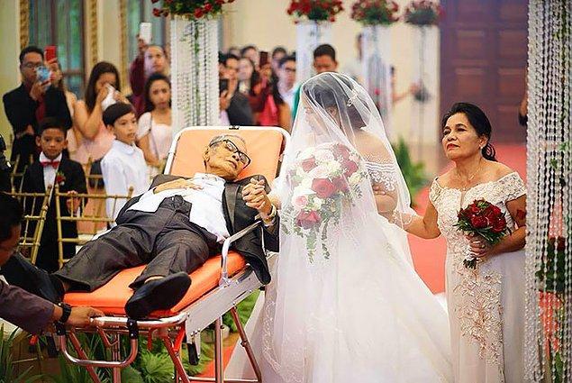 """3. """"Bir babanın ölmeden önceki tek dileği kızının düğününü görmekti..."""""""