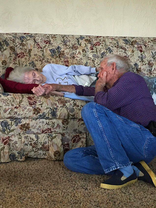 11. 69 yıllık evlilikten sonra...