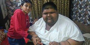 Dünyanın En Kilolu Genci Mide Kelepçesi Ameliyatından Sonra Yedi Ayda 100 Kilo Verdi!