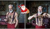 Yaşlı Ve Göbekli Halinden Eser Yok Şimdi: İşte Karşınızda Görüp Görebileceğiniz En Seksi Noel Baba!