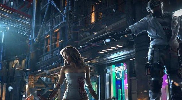Yapımcılar oyunun devasa bir haritada geçeceğini söylüyor. Üstelik Night City çok canlı bir şehir, farklı yayalar ve binaların yanı sıra, gecesi ve gündüzü olan, hava olaylarının yaşandığı bir çevre tasarımı var.