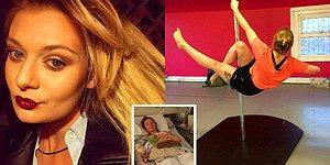 Trafik Kazasında Bir Kolunu Kaybettikten Sonra Eski Gücüne Direk Dansı Sayesinde Dönen Kadın