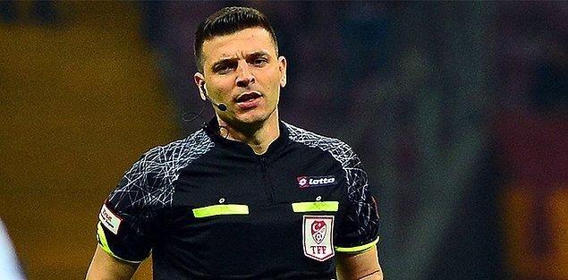 Başakşehir - Galatasaray maçını Ümit Öztürk yönetecek.