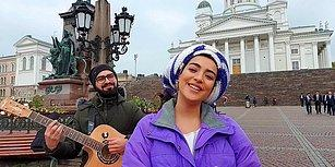 Dünyayı Gezerken, Gezdikleri Şehirlerde Müzik Yapan Azerbaycanlı Çift: Röya ve Rizvan