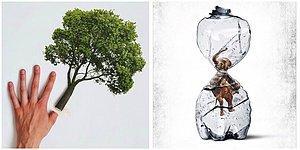 Sebebi Biziz! Çevre Kirliliği ve Küresel Isınmanın Etkilerini Gözler Önüne Seren Çarpıcı Reklam Çalışmaları