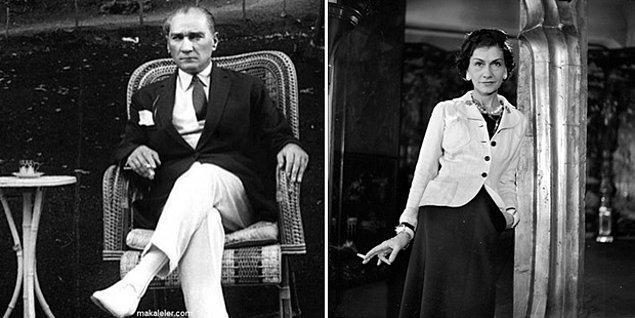 Şaşırtıcı bir bilgi de şu ki Chanel sadece dünya kadınlarını değil Türk askerlerini de giydirdi. 1930'lu yıllarda Atatürk, Türk Silahlı Kuvvetleri'nin üniformalarını Coco Chanel'e tasarlattı.