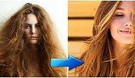 Bakımsız ve Elektriklenmiş Saçlara Son! Kabarık Saçlar İçin Kesin Çözüm Sağlayan Maske Tarifleri
