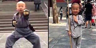 Dövüş Ustası Olabilmek İçin Tapınakta Sıkı Eğitimden Geçen 3 Yaşındaki Çocuk Görenleri Hayrete Düşürüyor!