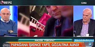 Canlı Yayında Murat Özdemir'in Papağana İşkence Görüntülerini İzleyen Ahmet Çakar: 'O. Çocuğu'