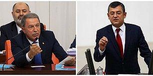 Bütçe Görüşmelerine Savunma Bakanı Akar ve CHP'li Özel Arasındaki Tartışma Damga Vurdu