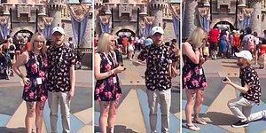 Disneyland'e Gidip Sevdiği Adama Evlilik Teklifi Etmek İsterken Evlilik Teklifi Alan Kadın