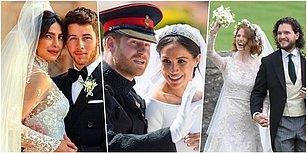 Bu Yıl Yabancı Ünlülerden de Evlenen Evlenene! İşte 2018'de Dünyaevine Giren 16 Dünyaca Ünlü Çift
