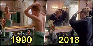 28 Yıl Sonra Yeniden! 'Evde Tek Başına' Filminin Yeniden Canlandırılan Unutulmaz Sahnelerini Görünce Çocukluğunuza Döneceksiniz!