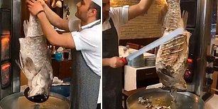 'Kim Demiş Karadeniz Mutfağı Zengin Değil Diye' Diyerek Yapılan 'Balık Döneri' Paylaşımına Gelen Tepkiler