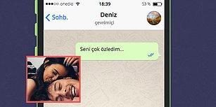 WhatsApp'ta Eski Sevgilini Yılbaşını Birlikte Geçirmeye İkna Edebilecek misin?