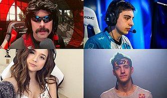 En Çok Kazanan 14 Twitch Yayıncısı ve Aylık Gelirleri