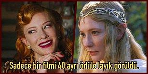 Yeri Geldiğinde 13 Karakteri Birden Oynadı, Oscar Alan Bir Oyuncuyu Canlandırarak Oscar Aldı: Cate Blanchett