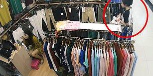 Çalışan Makyaj Yaptıkça Kıyafet Çalmaya Devam Eden Sülalesi Rahat Hırsız