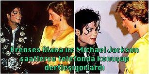 Popun Kralı Michael Jackson'ın Galler Prensesi Diana'ya Büyük Bir Aşk Beslediğini ve Onunla Evlenmek İstediğini Biliyor muydunuz?