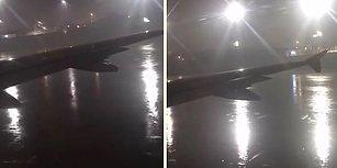 Yağmurlu Havadan Dolayı Geciken Pilotun Samimi Konuşması: 'Konu İstanbul Olunca Gecikme Normal'