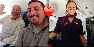 Noel'i Kabin Görevlisi Olan Kızıyla Geçirmek İçin Tüm Uçuşlara Bilet Alan Dünyanın En Tatlı Babası