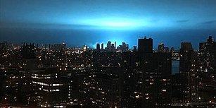 New York Semalarındaki 'Esrarengiz Mavi Işık' Korkuttu: 'Biri Hayalet Avcıları'nı Arasın'