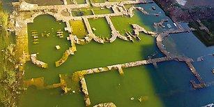 'Mutlak Koruma Gerek' Denilmişti: İzmir'de Bulunan Antik Roma Dönemine Ait Kalıntılar Su Altında
