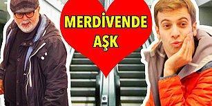 Sebepsizce Gülüp, Mutlu Olacaksınız: Türkiye'de Yürüyen Merdivende Aşk Şakası