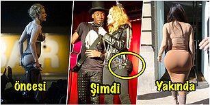 Kim Kardashian'ı Poposuyla Ezdi Geçti! Madonna'nın Yeni İmplantları Gündem Oldu!