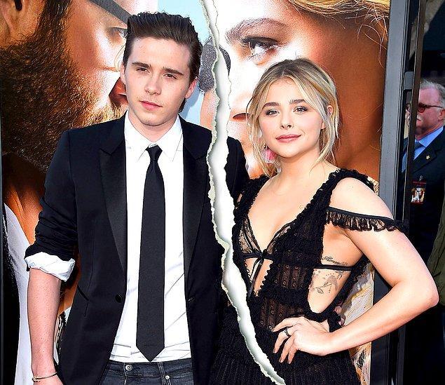 Victoria ve David Beckham'ın en büyük çocuğu Brooklyn, ünlü oyuncu Chloe Grace Moretz ile yaşadığı aşkla göz önüne gelmişti.