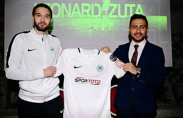 Leonard Zuta ➡️ Konyaspor