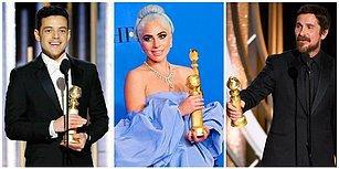 Christian Bale Şeytan'a Teşekkür Etti, Emma Stone Özür Diledi! 76. Altın Küre Ödül Töreni Gecesinde Neler Yaşandı?