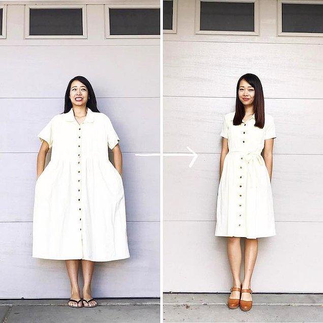 7. Ayrıca kıyafetlerde farklı tarzları ya da farklı dönemlerin modalarını bir araya getirebiliyor.