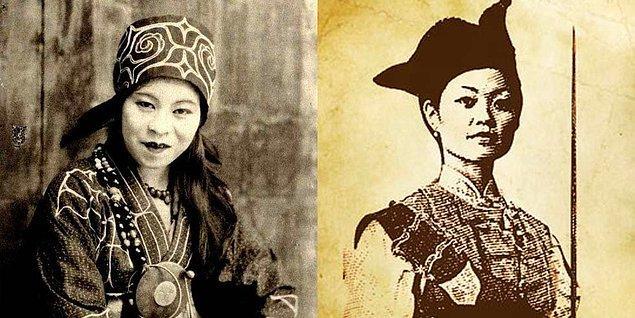 7. Tarihin gelmiş geçmiş en başarılı korsanlarından biri, Ching Shih adında Çinli bir fahişeydi. Ching Shih'in zamanında 1500'den fazla gemi ve 80 bin denizciden oluşan bir filoya komuta etmişliği var.