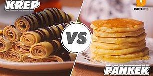 Kahvaltının Kahramanlarından Favori Olanı Seçmek Çok Zor! Krep vs Pankek Nasıl Yapılır?