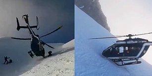 Fransız Alpleri'ndeki Kurtarma Operasyonu Sırasında Gösterdiği Üstün Kontrol Yeteneğiyle Alkış Toplayan Helikopter Pilotu