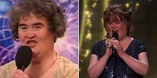 9 Yıl Aradan Sonra Yeniden Yetenek Yarışmasına Katılan 'Susan Boyle' Yine Ortalığı Yıktı!