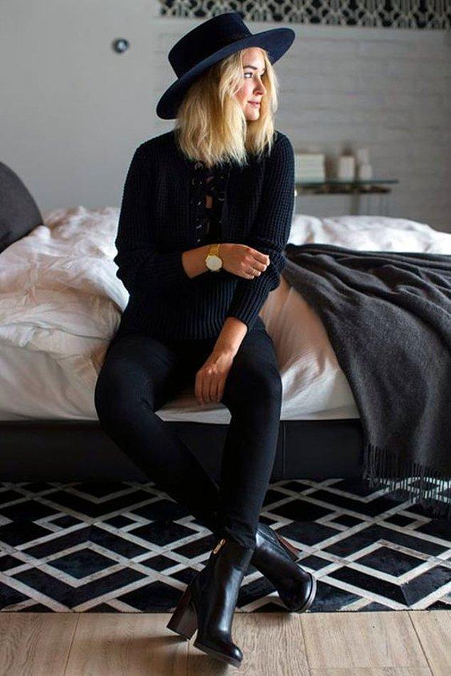 5. Sizin de yakınlarınız siyahtan başka bir renk giydiğinizde şaşırıyor mu?