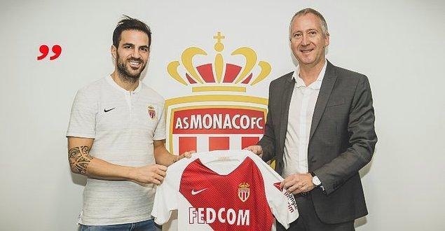 Fabregas ➡️ Monaco - [11 milyon euro]