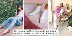 Şimdi Sıra Buna Geldi: Çirkin Ayakkabı Trendi 2019'da Küt Burunlu Ayakkabılarla Devam Ediyor