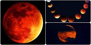 'Süper Kanlı Kurt Ay' İçin Geri Sayıma Başlıyoruz! Peki Ay Tutulması Ne Zaman?
